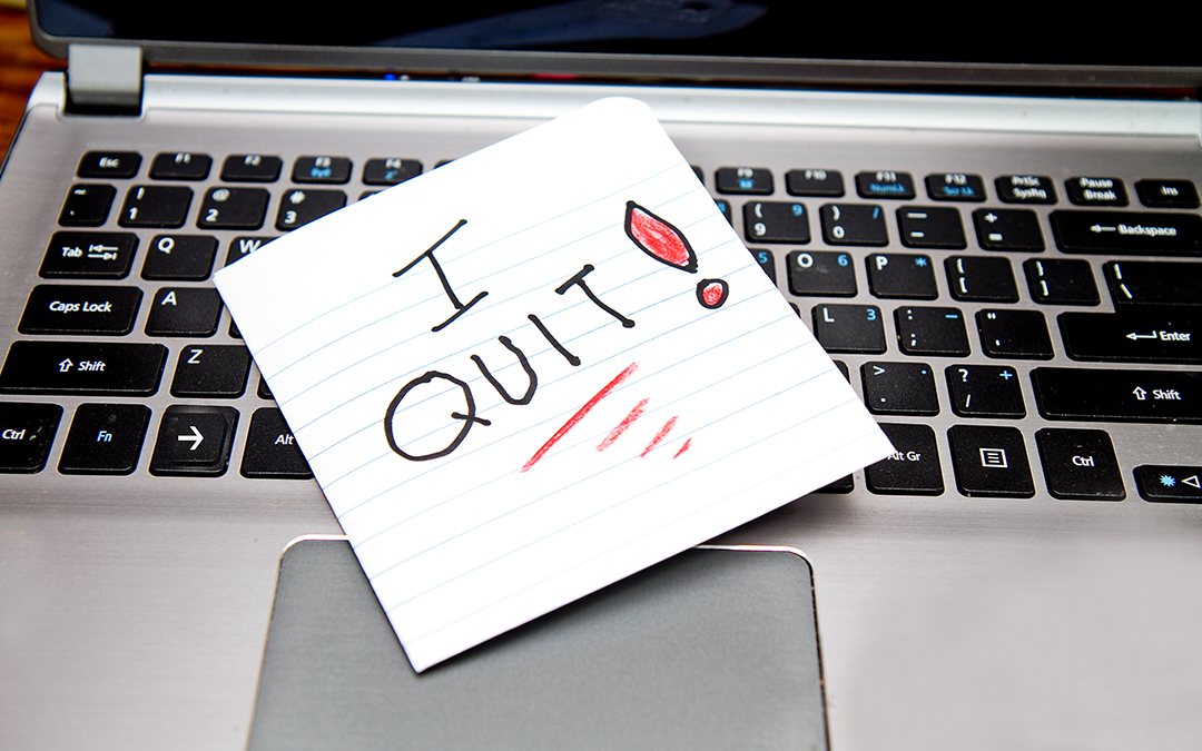 14 signs it's time to quit your job