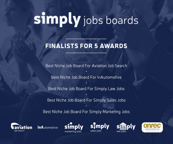 Simply Jobs Boards top 5 niche sites shortlisted for Onrec award